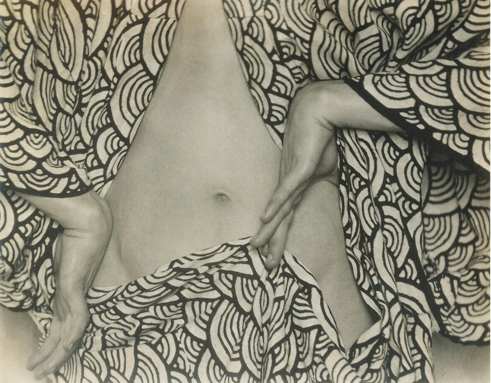 Semi-nude, circa 1923