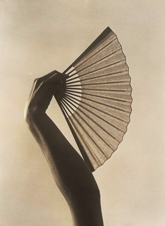 Fan in Hand, circa 1925