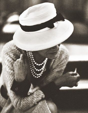 Coco Chanel by Douglas Kirkland in 1962, aged 79.