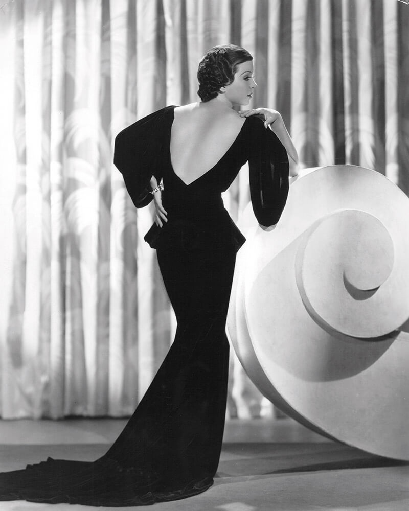 Actress Frances Langford, Paramount Pictures press photograph circa 1930s