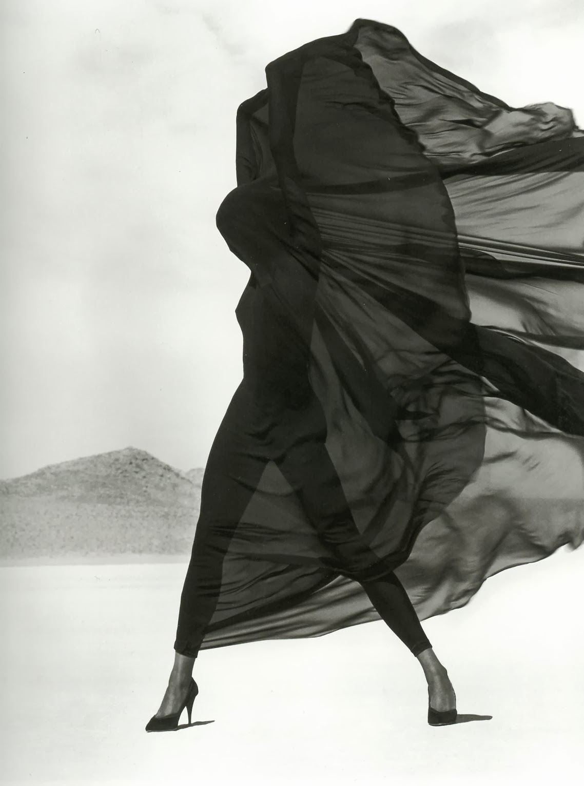 Naomi Campbell by Herb Ritts, 1990.