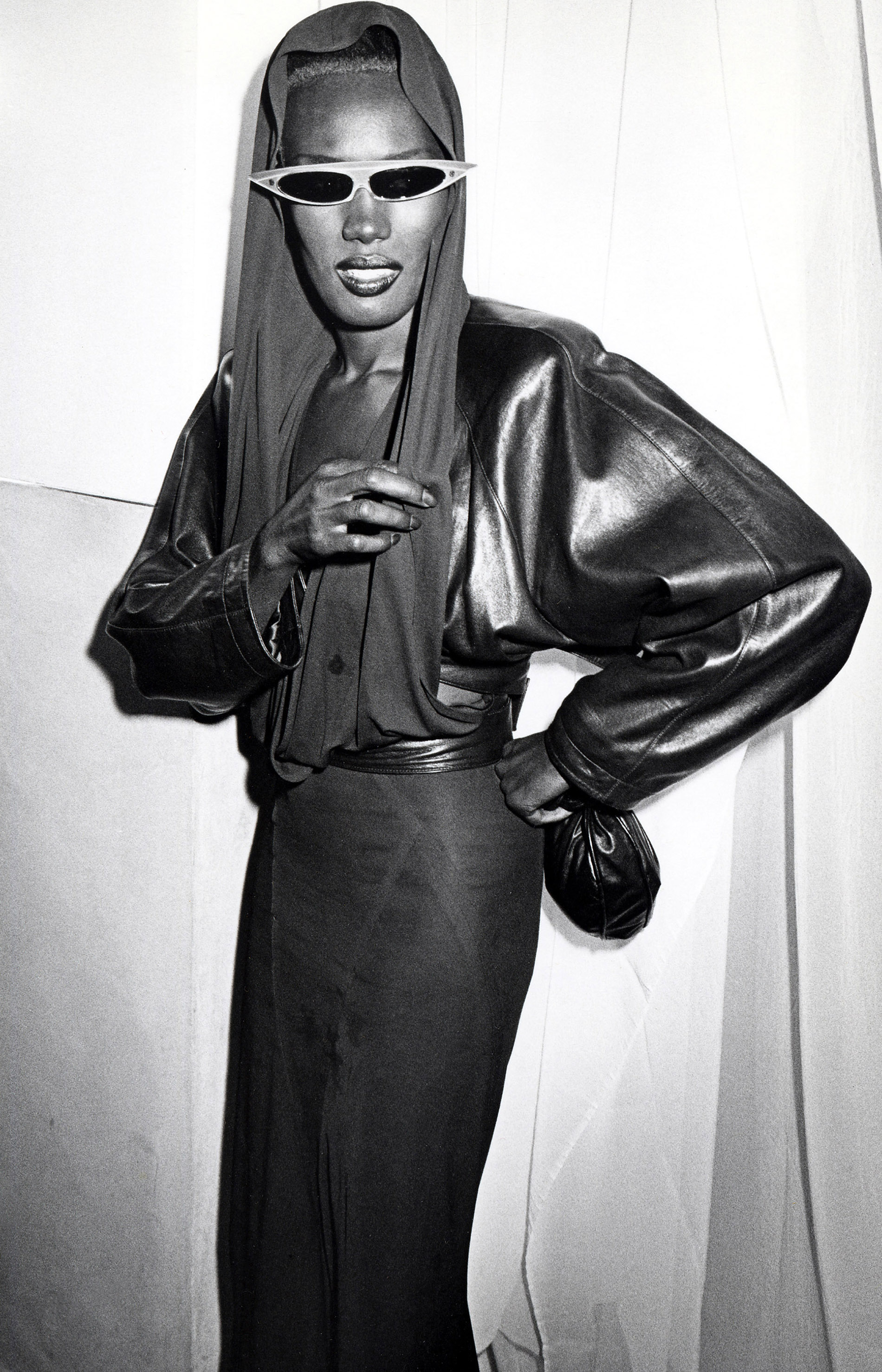 Grace Jones by Ron Galella/WireImage via Getty