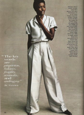 by Steve Meisel, Vogue 1996