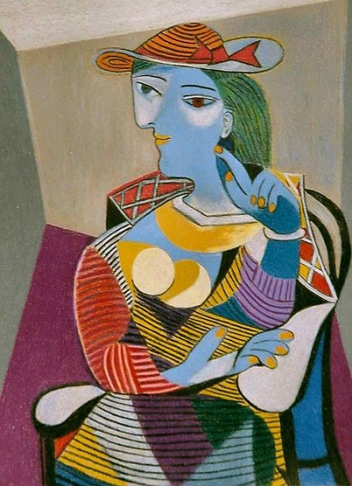 Pablo Picasso | Seated Woman | 1937