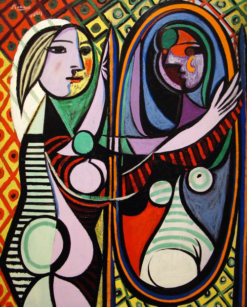 Pablo Picasso | Girl Before a Mirror | 1932