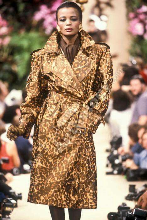 Yves Saint Laurent AW 1986