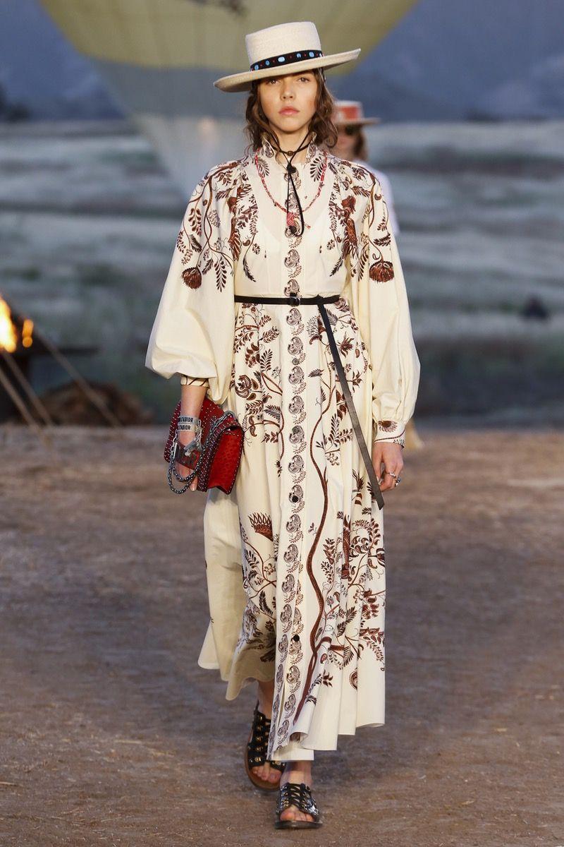 Christian Dior Resort 2018 Collection. Photo:Jonas Gustavsson/Indigi  via  Vogue