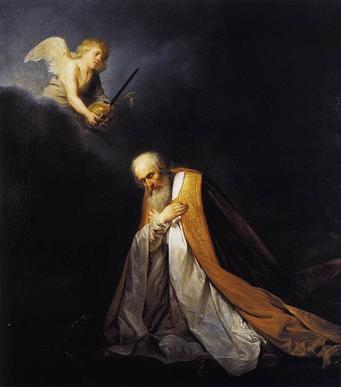 King David in Prayer by Pieter de Grebber, circa 1637