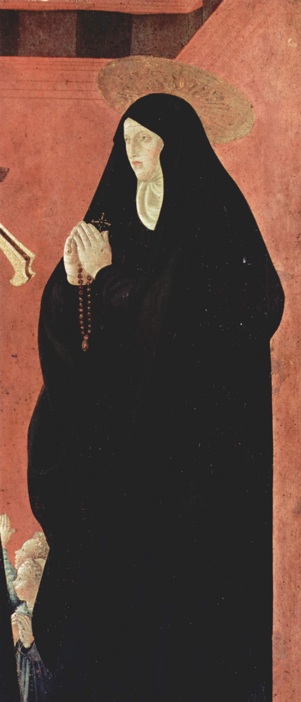 Nun Saint with Two Children by Paolo Uccello (1397 – 1475)