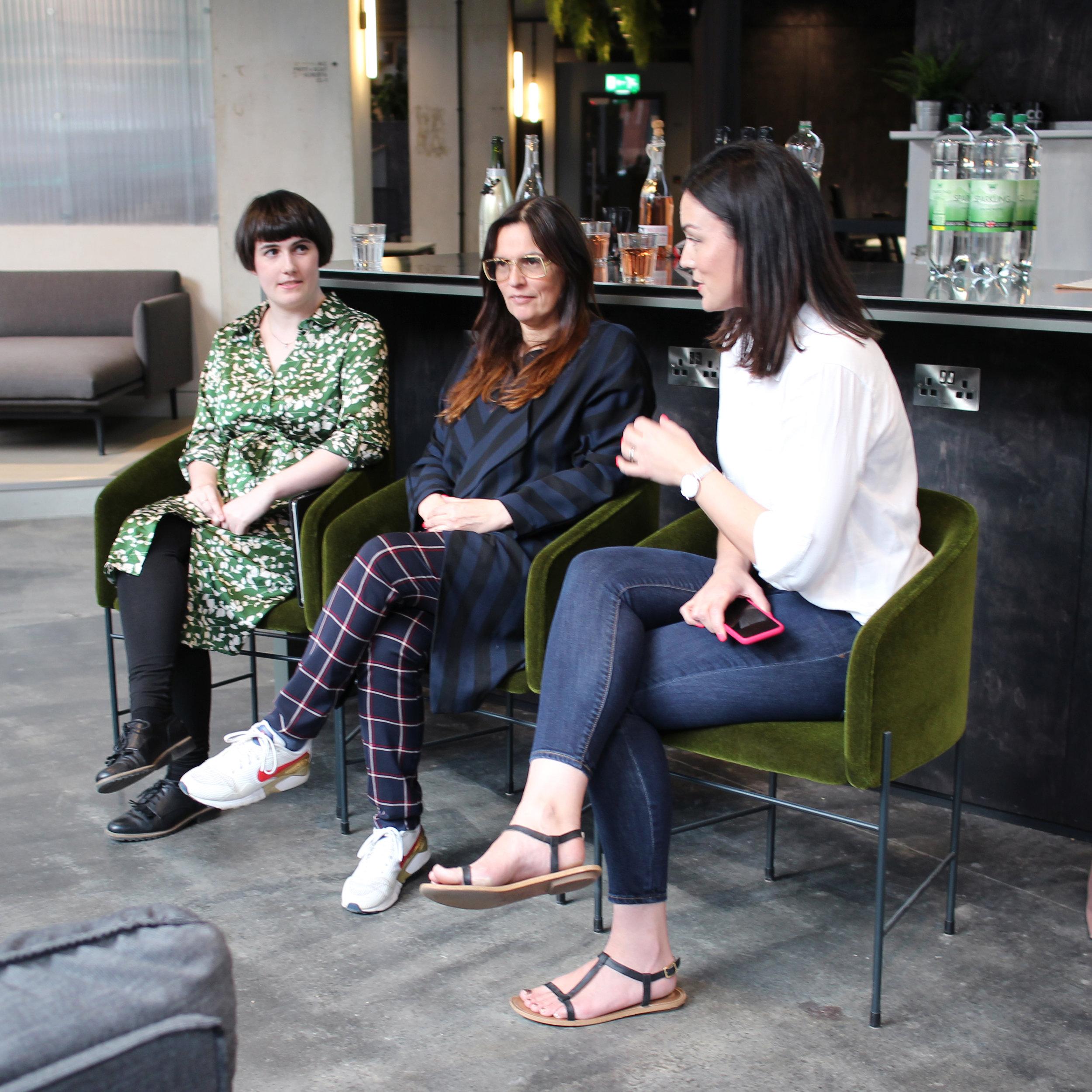 Emma, Jacqui and Katy