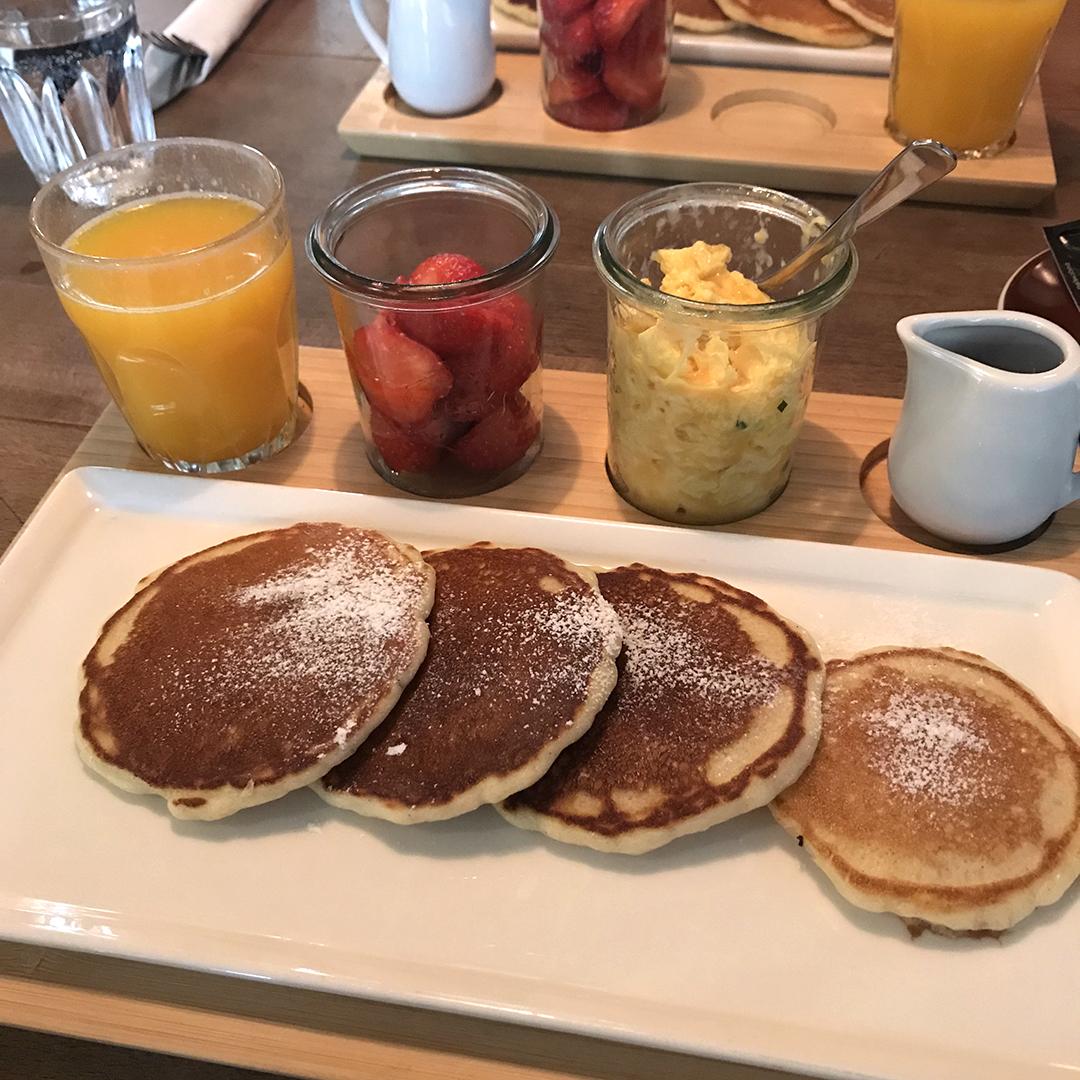Café Lang pancakes of dreams