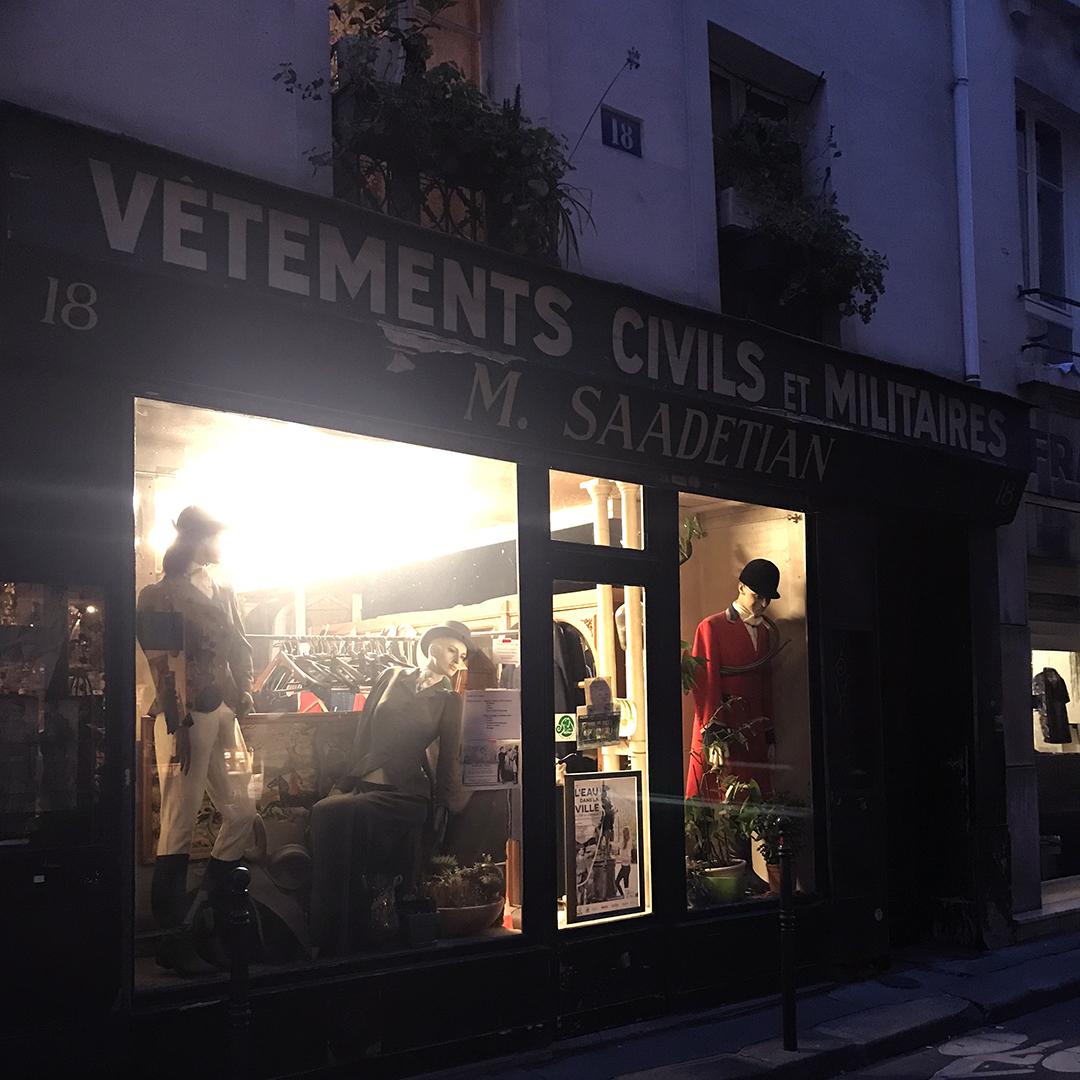 Your average Parisian shop
