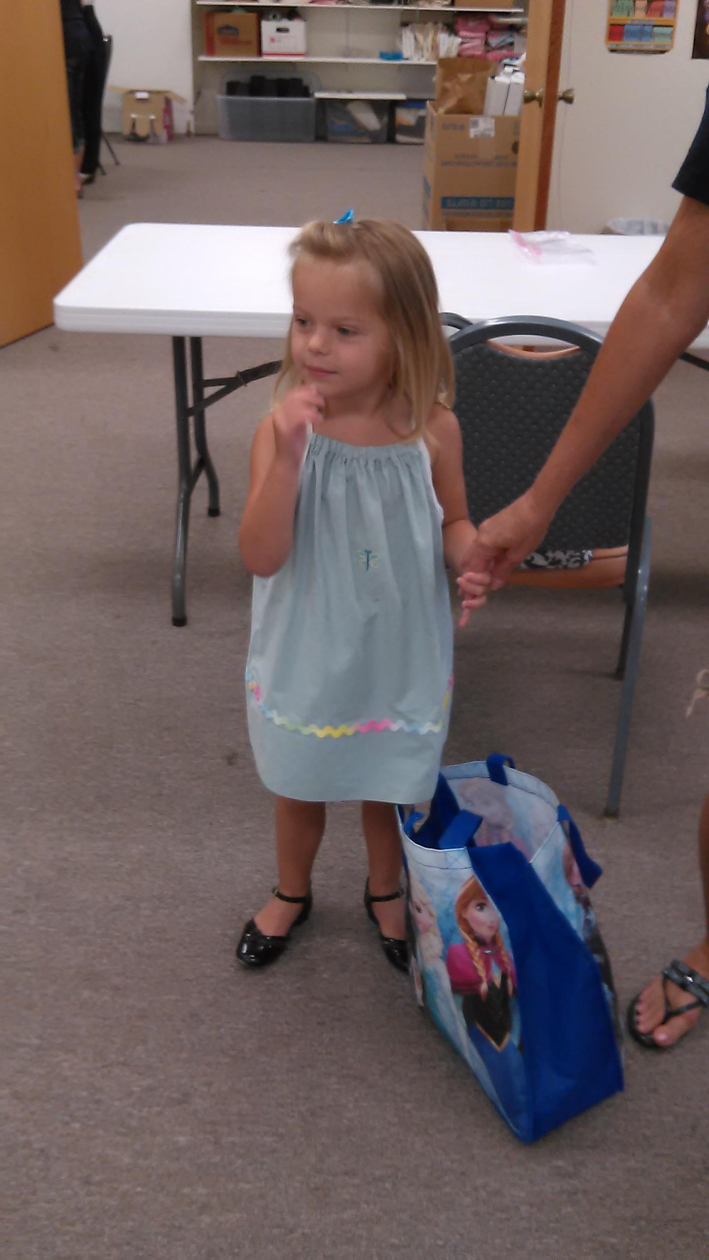 Our model, LeAnne's granddaughter.jpg