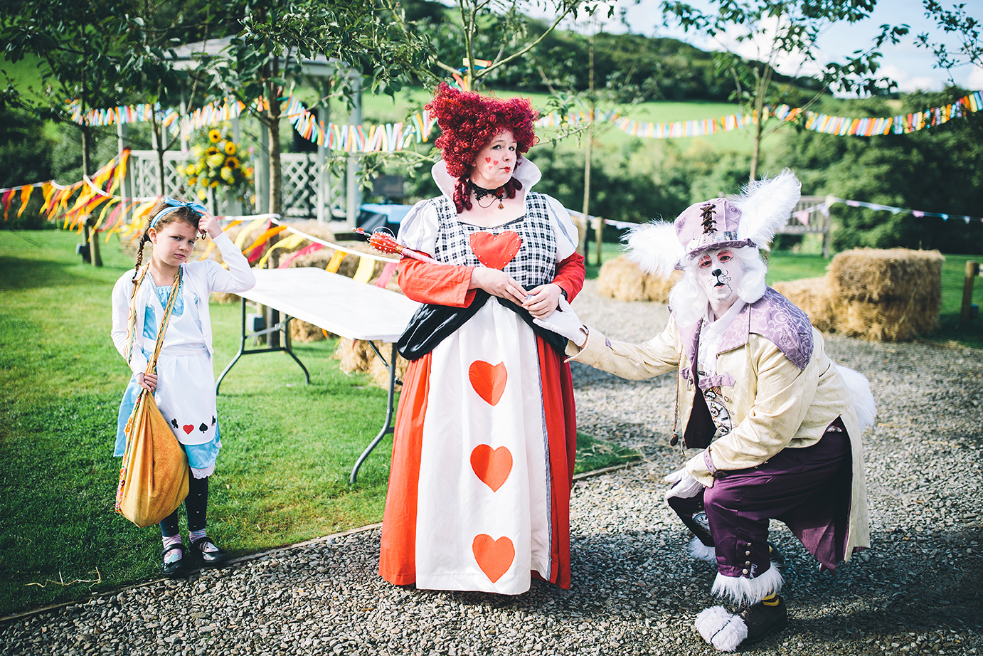 Alice in Wonderland from Marvellous Event-ures from our 2016 event.