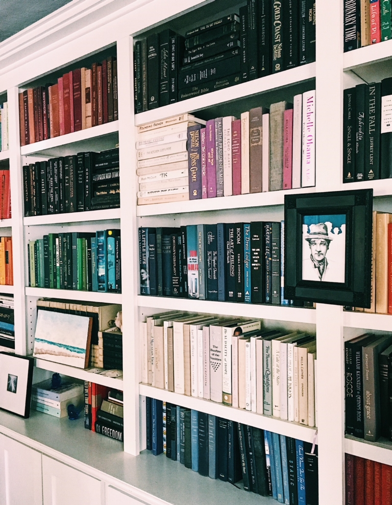 quality design 6dbcc 43b11 9 Tips For Staging Your Bookshelves To Attract Buyers — MK Home