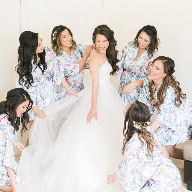 When the whole bridal party is gorgeous 😍 #amiragrayweddings #sandiegoweddingphotographer