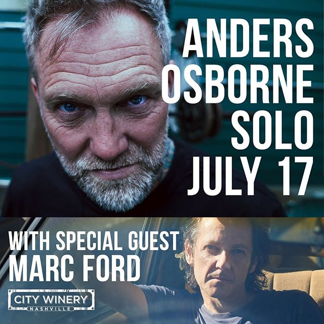 Getting excited for next Wednesday @citywinerynsh with @andersosborne in Nashville!