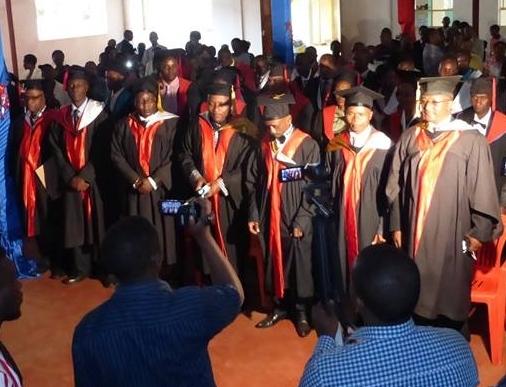 MA graduation Africa