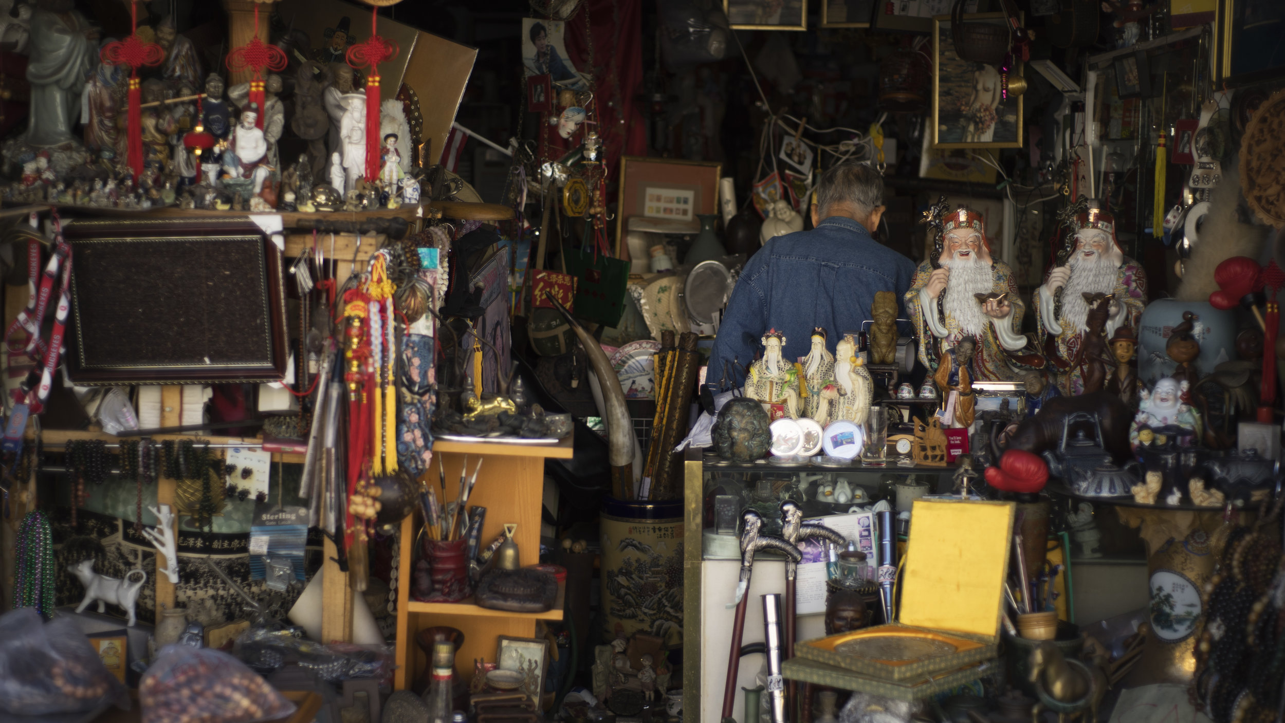 Man in Garage, San Francisco, CA, 2016