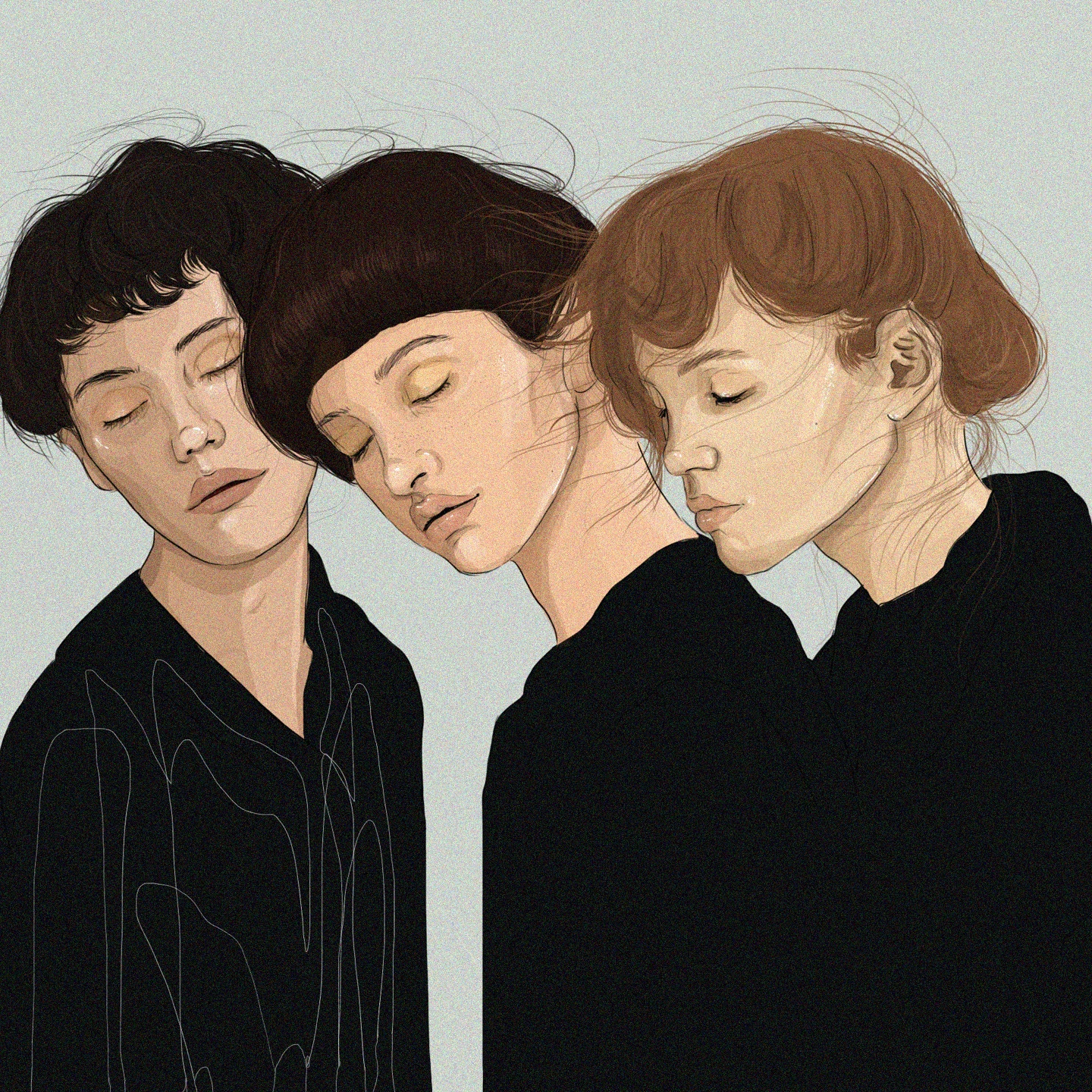 SLEEPY GIRLS    Mobile 1920 x 1080