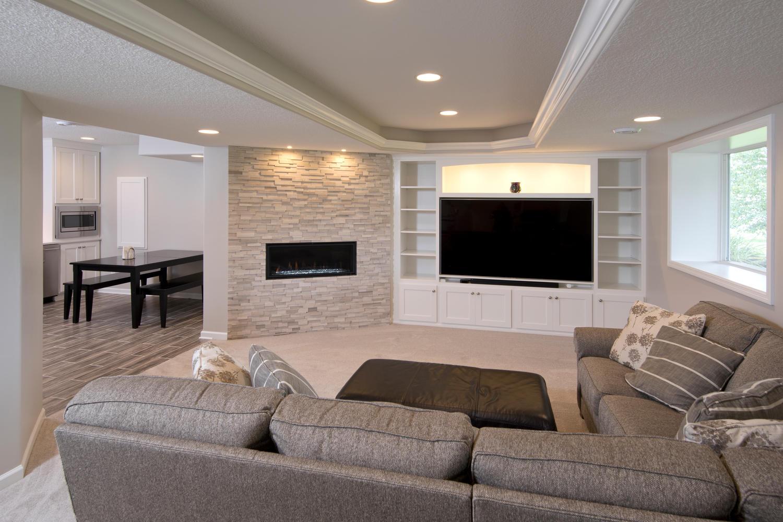 Project Feature Farmington Minnesota Lower Level And Kitchen Remodel Shaeffer Design Build