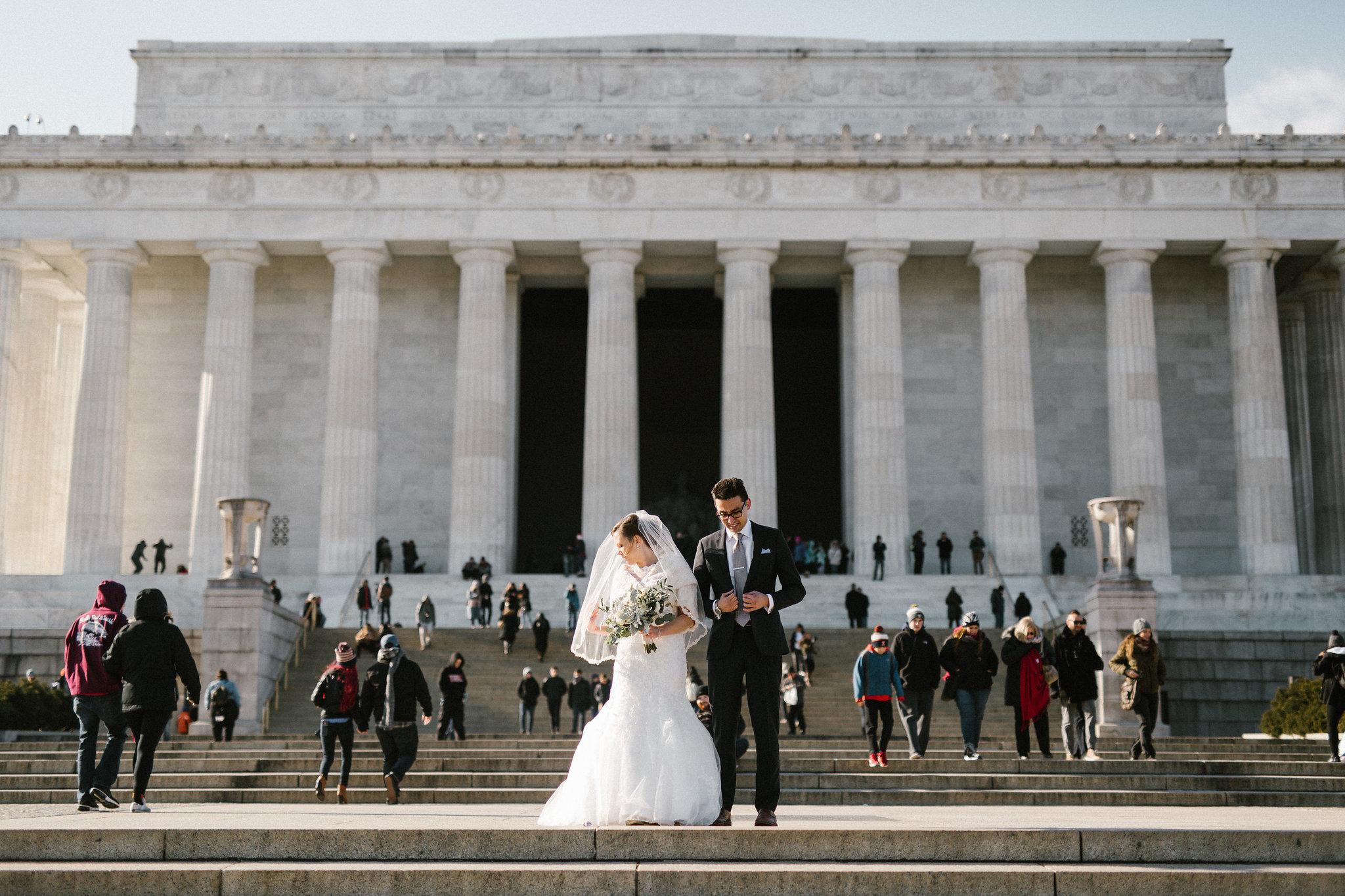 monuments wedding