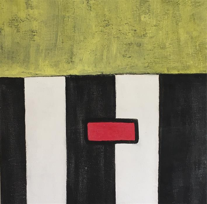 """Abstract #14 (18"""" x 18"""")by John Eastman, acrylic painting"""