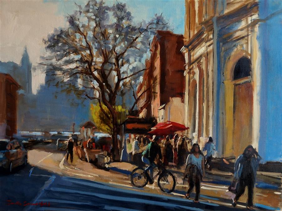 """Brooklyn (20"""" x 16"""")by Jonelle Summerfield, oil painting"""