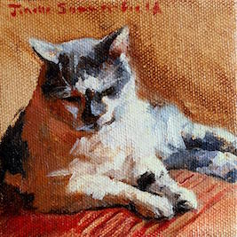 Sassy Cat  by Jonelle Summerfield