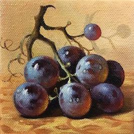 Black Grapes  by Nikolay Rizhankov