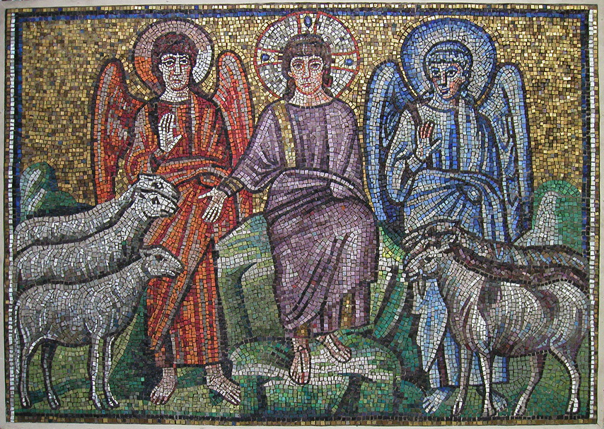 Separation of Goats and Sheep, early 6th century