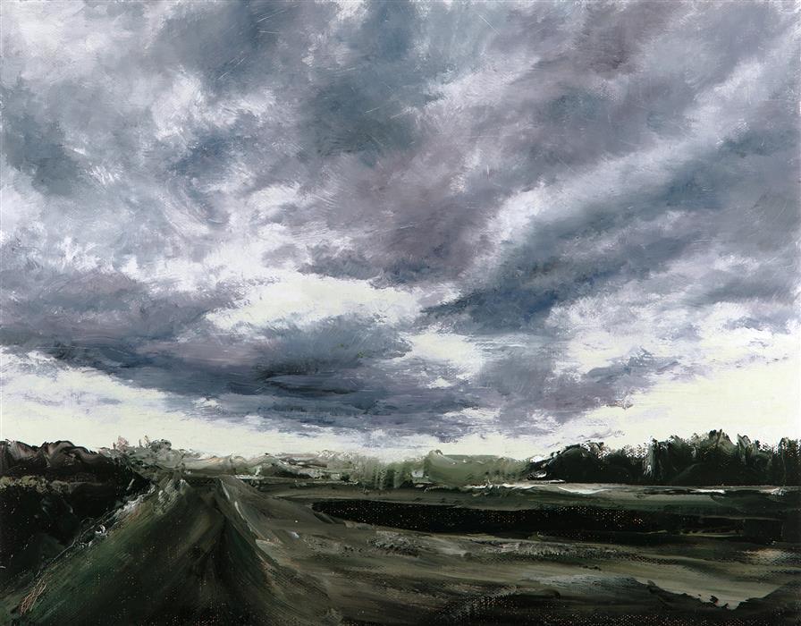 "The Calm  (11""x 14"") by Jill Poyerd, oil painting"