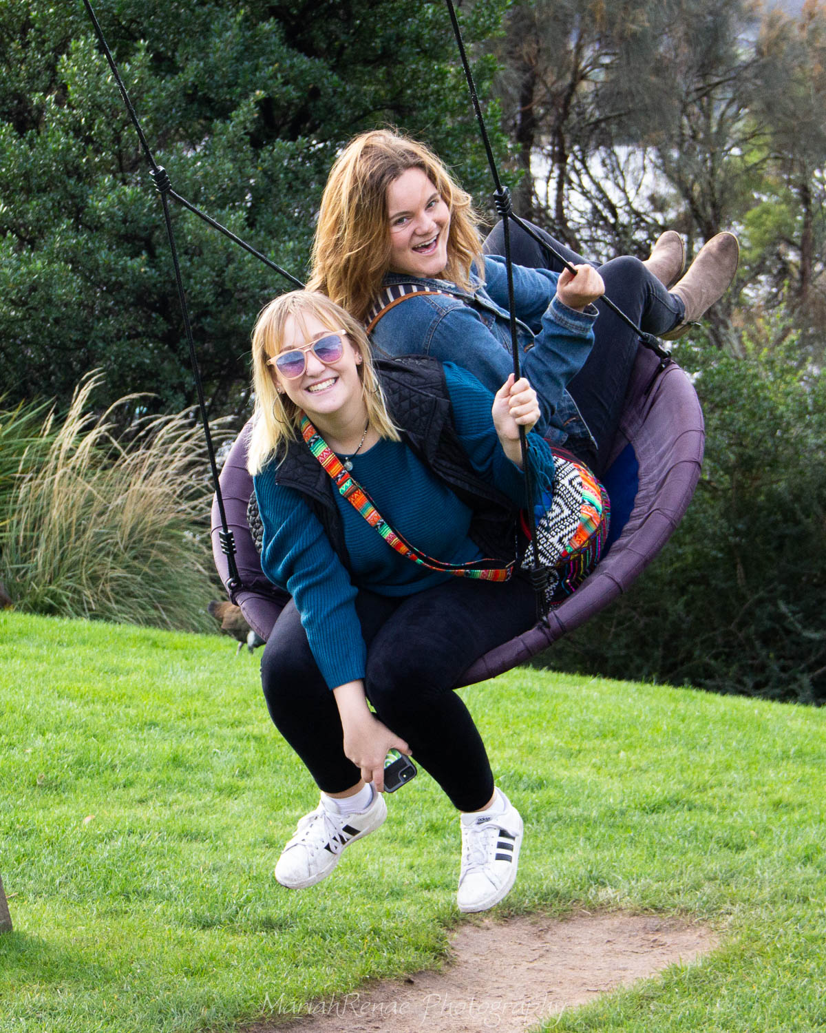 Yes, its true. They do have a swing set at MONA.
