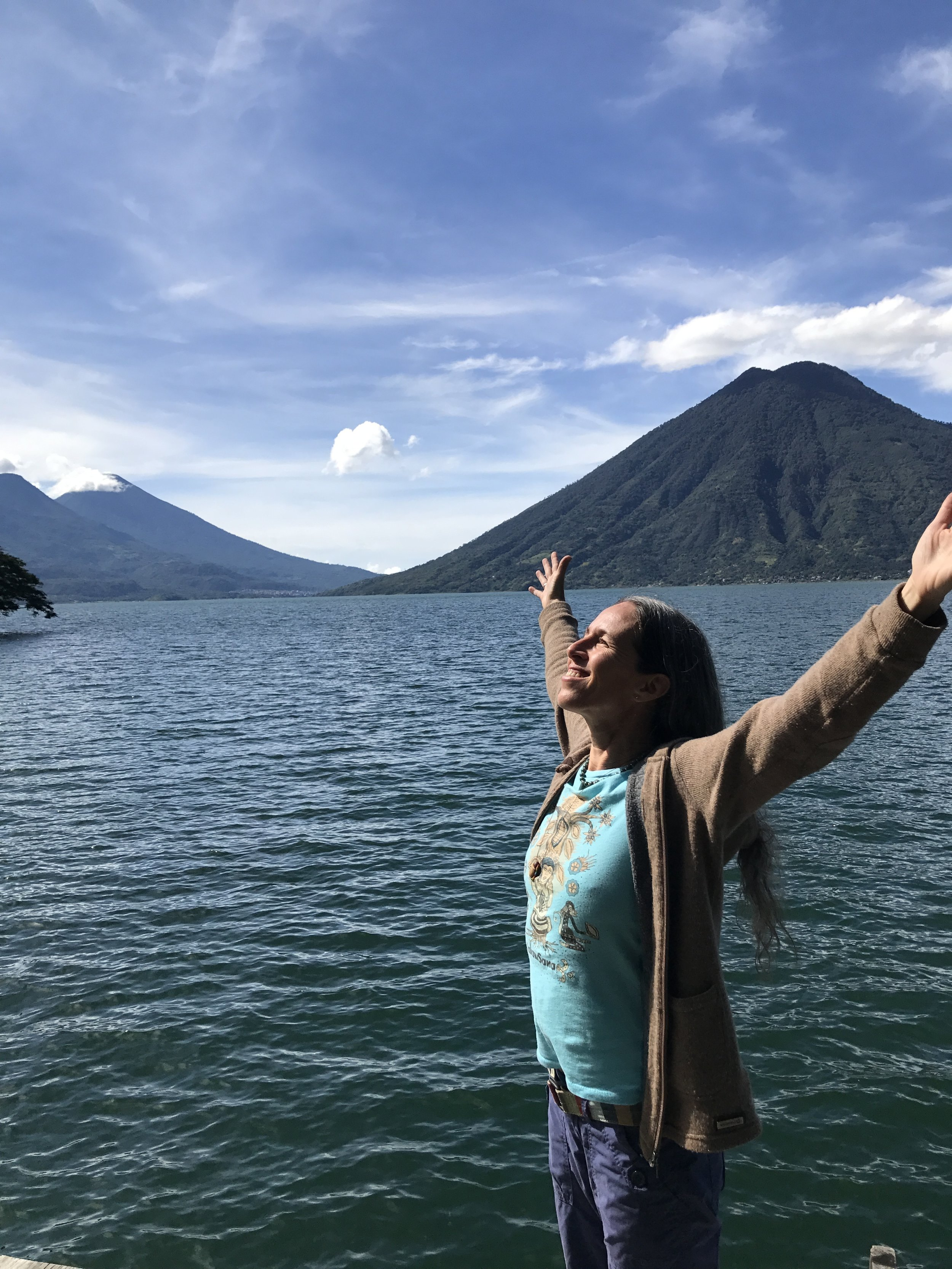 Lake Atitlan, San Marcos, Solola, Guatemala