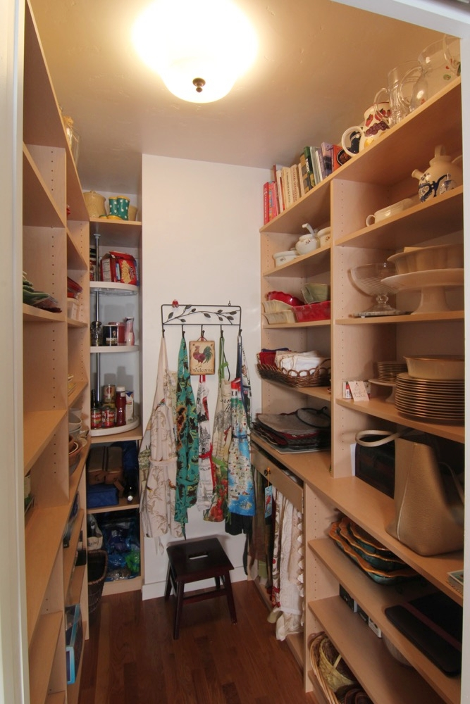 Third Avenue: The walk-in pantry