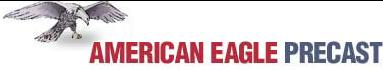 American Eagle Precast Logo. Aeprecast.com