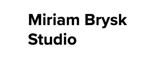 Miriam Brysk Studio Logo