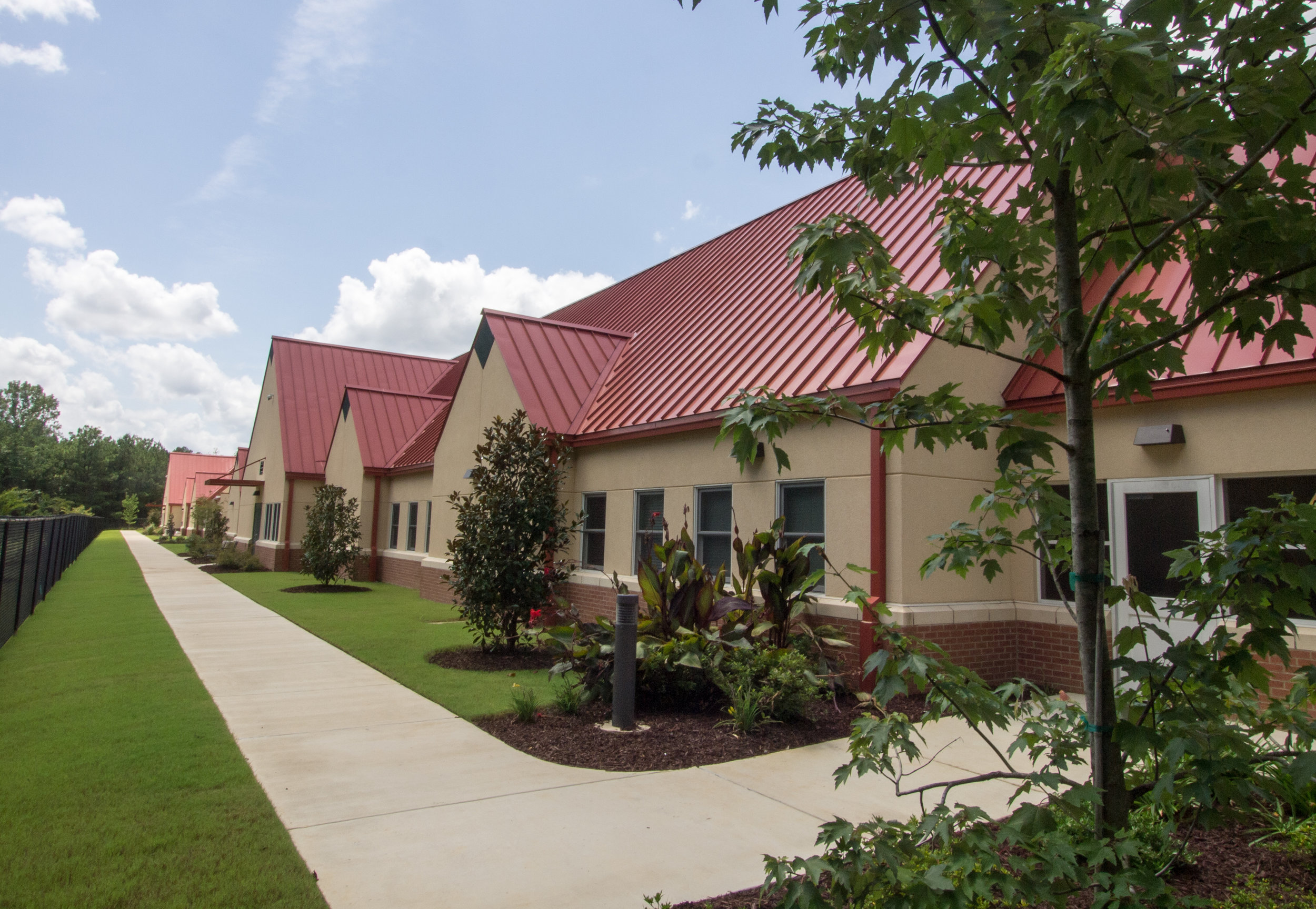 The Alzheimer's facility at St. Catherine's Village is located in Madison, Mississippi.