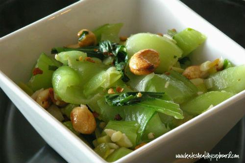 Cashew Bok Choy