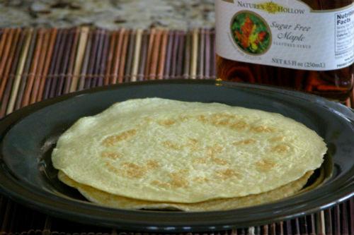 Grain Free Thin Pancakes