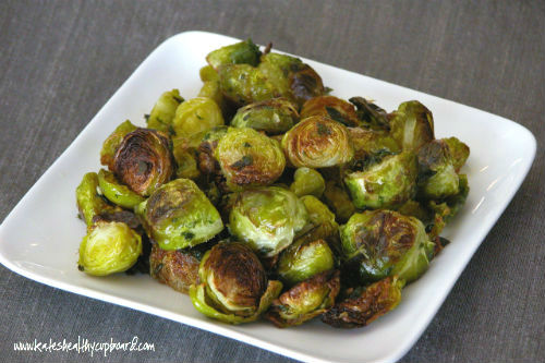 Oregano Roasted Brussel Sprouts