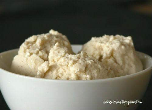 Dairy Free Vanilla Bean Ice Cream