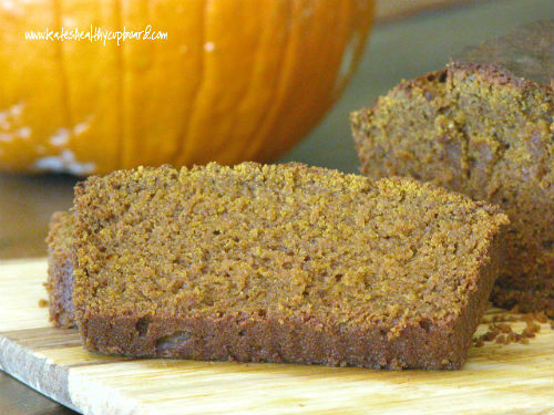 Grain Free Chestnut Flour Pumpkin Bread