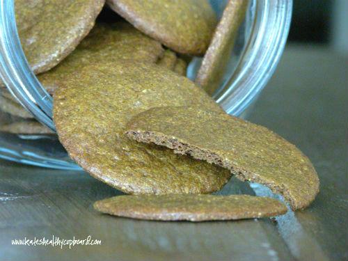 Grain Free Ginger Cookies