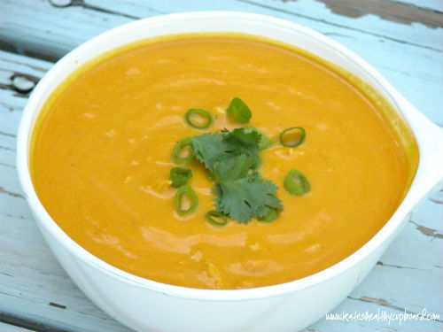 Coconut Curry Carrot Soup