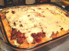Lasagna Baked