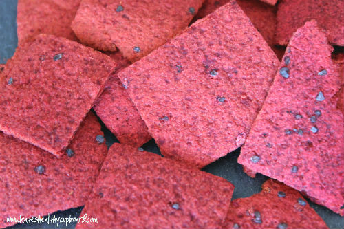 Beet Crackers