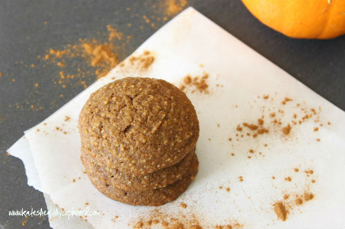 Grain Free Pumpkin Pecan Cookies Recipe