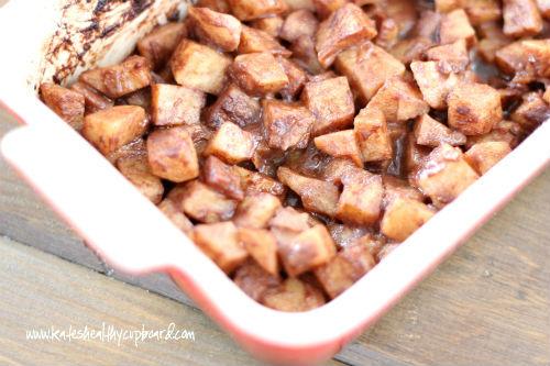 Faux Baked Cinnamon Apples Recipe