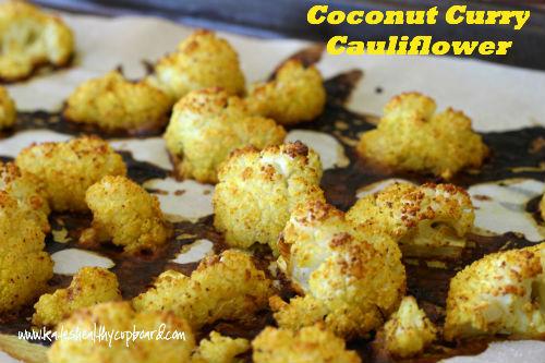 Coconut Curry Cauliflower Recipe